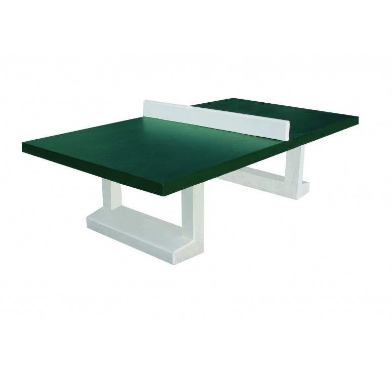 Table de ping pong d 39 ext rieur en b ton table de ping pong pour collectivit leader equipements - Dessiner une table de jardin ...