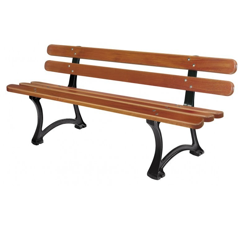 banc de jardin public prix d 39 un banc public en bois mobilier de jardin public. Black Bedroom Furniture Sets. Home Design Ideas