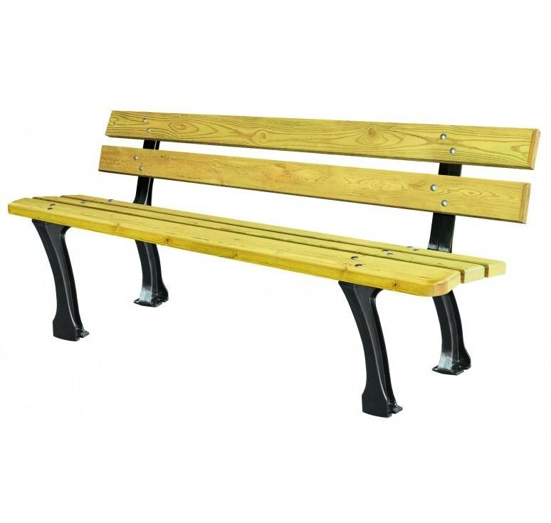 achat de mobilier urbain banc public d sseldorf banc ext rieur pour parc. Black Bedroom Furniture Sets. Home Design Ideas
