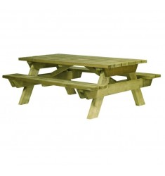 Table de pique nique en bois modèle Berlin