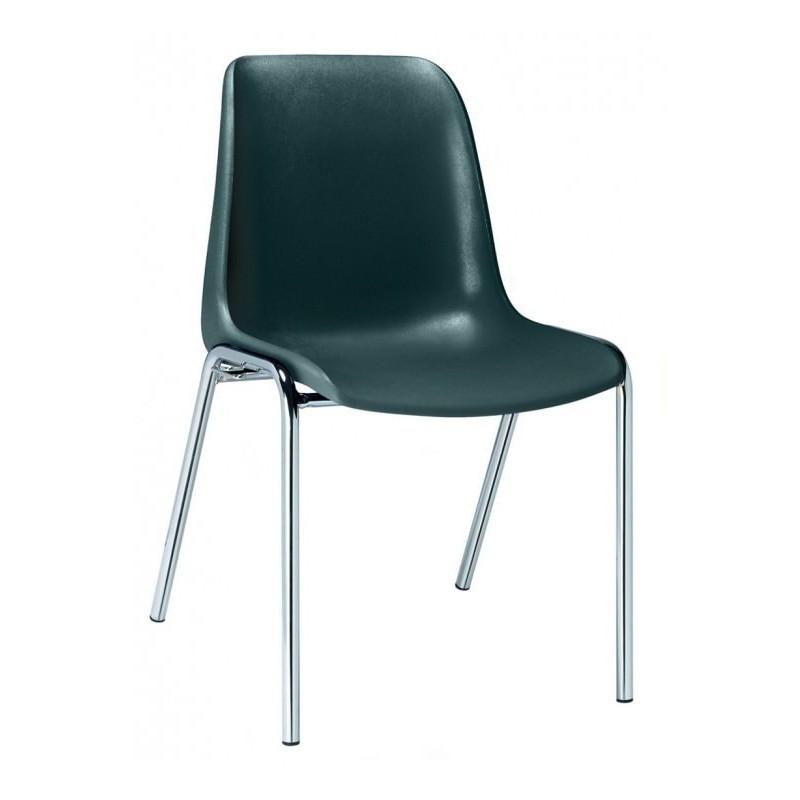 chaise coque plastique de collectivit chaise coque plastique empilable h l ne. Black Bedroom Furniture Sets. Home Design Ideas