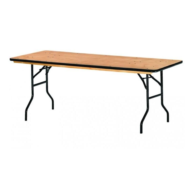 Table Pliable En Bois Table Pliante De Collectivite En Bois