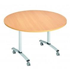 Table basculante en mélaminé