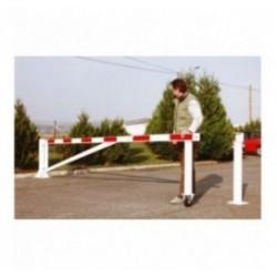 Barrière rotative pour rue piétonne