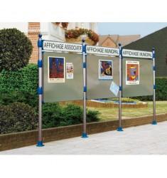 Panneaux d'affichage extérieur libre