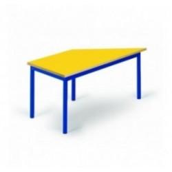 Table trapézoidale pour école