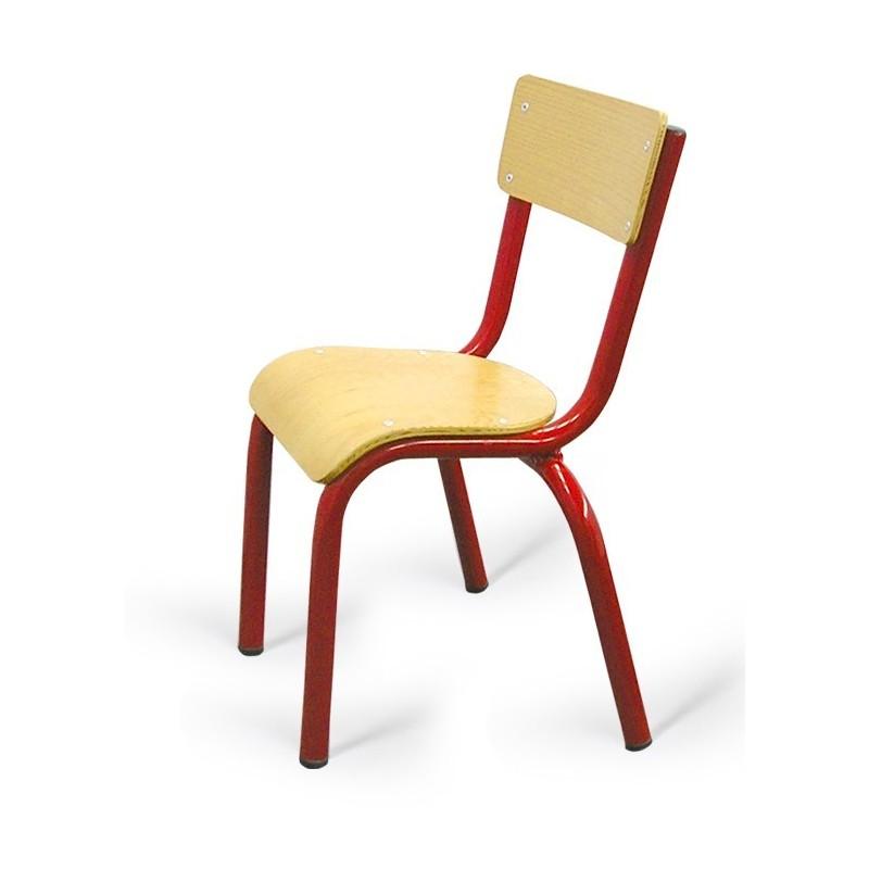 Chaise Pour Ecolier En Bois Noa