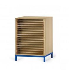 meuble dessins avec tiroirs leader equipements. Black Bedroom Furniture Sets. Home Design Ideas