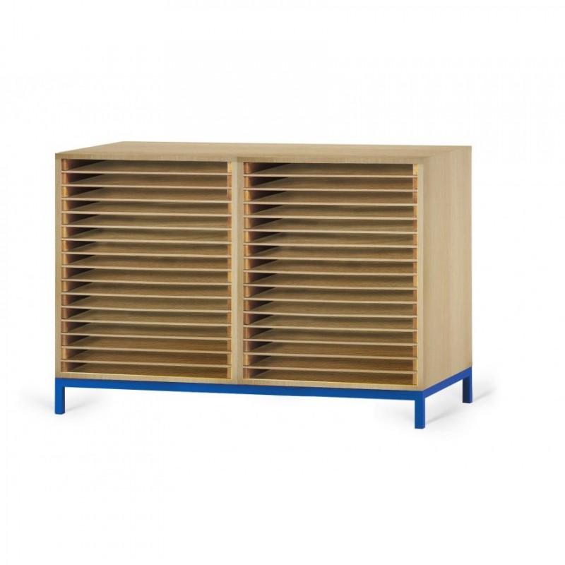 Meuble de rangement à dessin 15 ou 30 cases , rangement à dessin en mélaminé