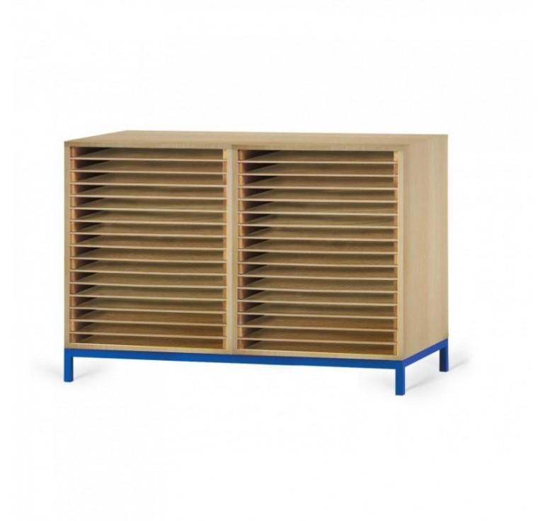 meuble de rangement dessin 15 ou 30 cases rangement. Black Bedroom Furniture Sets. Home Design Ideas