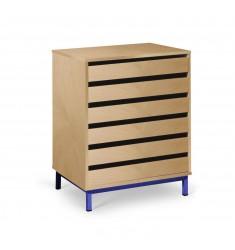 Meuble de rangement à dessin avec tiroirs
