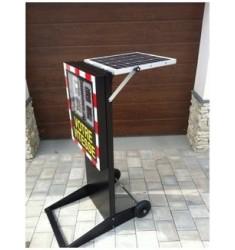 Radar pédagogique mobile solaire