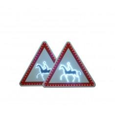 Panneau passage de cavaliers A15C à LED