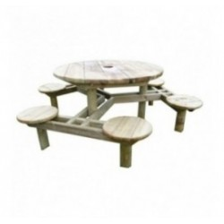 Table de picnic en bois Forest