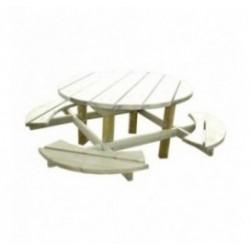 Table de picnic en bois Bosquet