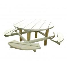 Table pique-nique bois Modèle Bosquet