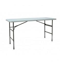 Table en polyethylène pour buffet