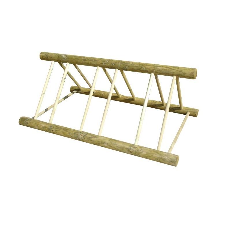 rack en bois pour v los range v lo en bois rack v lo en bois 6 places. Black Bedroom Furniture Sets. Home Design Ideas