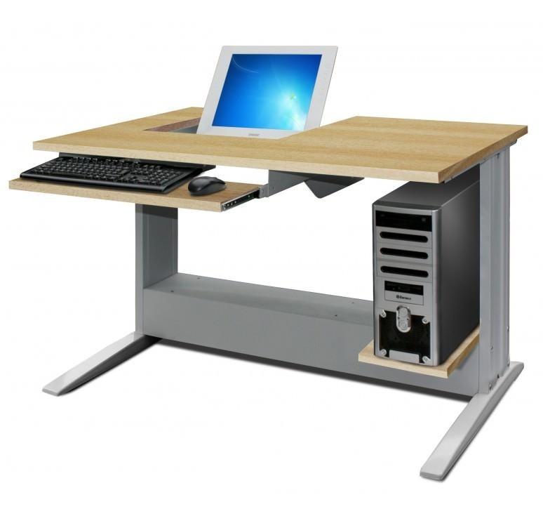 bureau informatique ecran semi encastre Résultat Supérieur 5 Beau Bureau Informatique 100 Cm Stock 2017 Xzw1