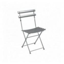 Chaise de collectivité pliante pour terrasse