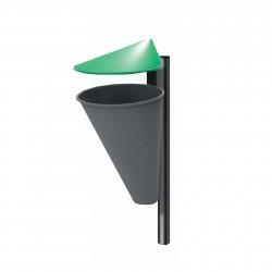 Aménagement extérieur : poubelle Valence