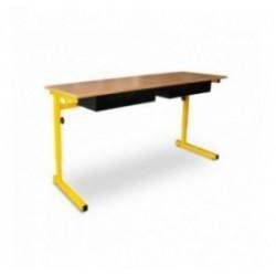 Table et bureau scolaire Louis réglable