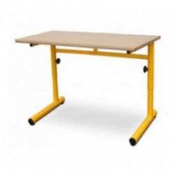 Table et bureau scolaire Laura à hauteur réglable