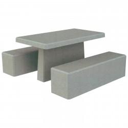 Aménagement extérieur : table de pique-nique Triton