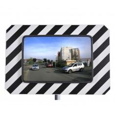 Miroir urbain rectangulaire