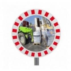 Miroir urbain de sécurité rond