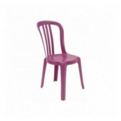 Chaise en plastique Miami Color