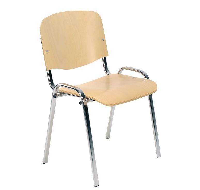 chaise en bois empilable iso chaise pour collectivit empilable. Black Bedroom Furniture Sets. Home Design Ideas