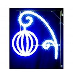 Lampion lumineux pour candélabre