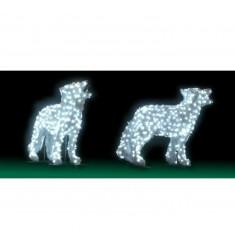 Loup Lumineux 3D