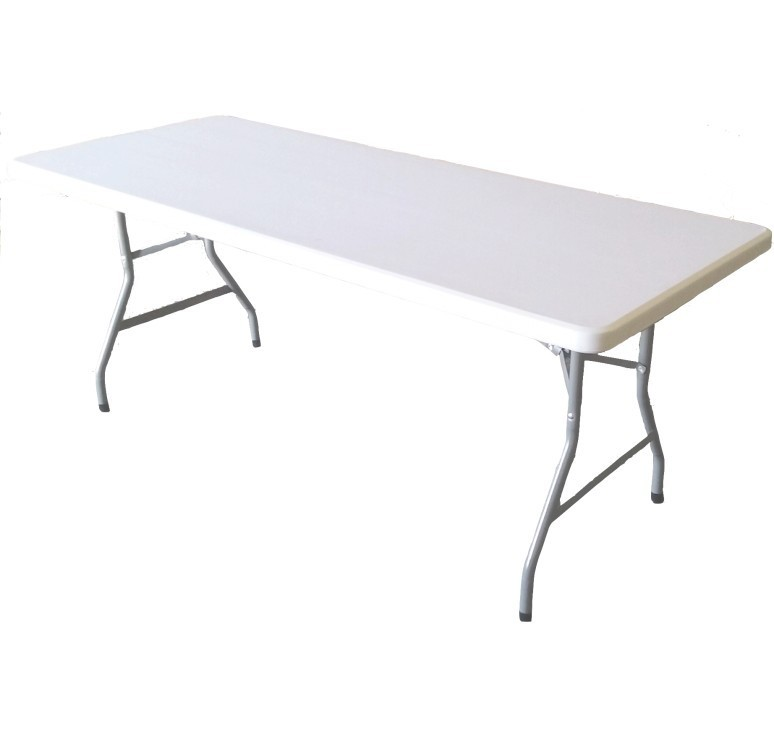 Lot de tables polypro pliantes chariot lot de tables - Table pliante pour exposition ...