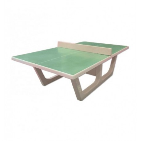 Table de tennis de table en béton - modèle Rondo (verte)
