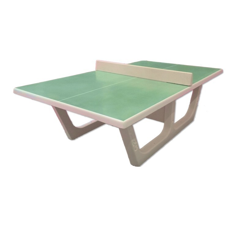 table de ping pong exterieur en beton table de ping pong beton rondo sur leader equipements. Black Bedroom Furniture Sets. Home Design Ideas