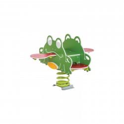 Aménagez l'aire de jeux avec notre jeu sur ressort grenouille