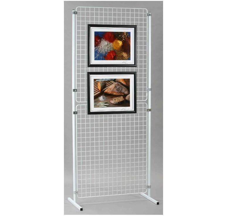 grille d 39 exposition d montable panneau d 39 affichage. Black Bedroom Furniture Sets. Home Design Ideas