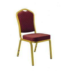 Chaise de banquet rembourrée