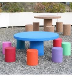 Table de pique-nique en béton pour enfants