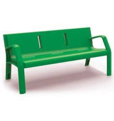 Banc public en polyéthylène Ecoplast