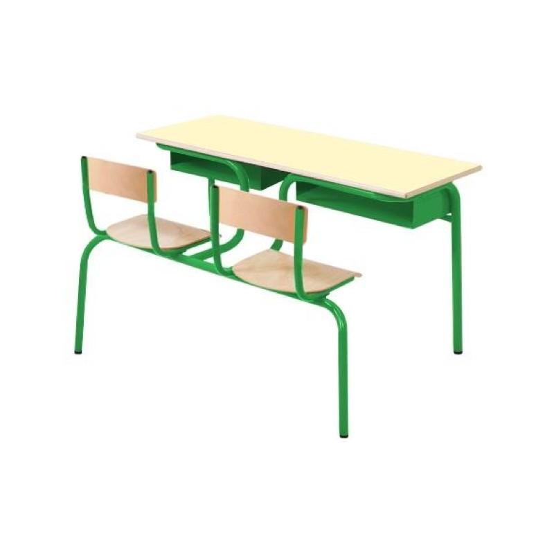 bureau monobloc mobilier scolaire fabriquant de mobilier scolaire leader quipements. Black Bedroom Furniture Sets. Home Design Ideas