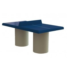 Table de ping pong en béton pour enfants
