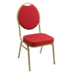 Chaise de banquet empilable