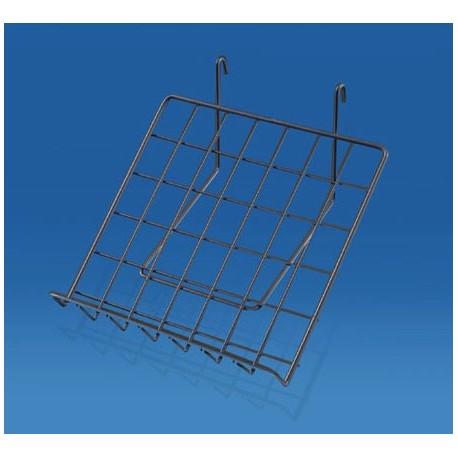 accessoire pour grilles d 39 exposition tablette inclin e. Black Bedroom Furniture Sets. Home Design Ideas