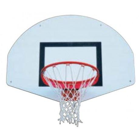 panier de basket mural ext rieur demi lune panier de. Black Bedroom Furniture Sets. Home Design Ideas