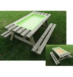 Table banc multi-activités