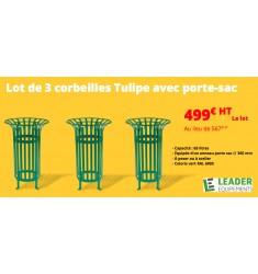 Promotion Corbeille Tulipe avec port-sac