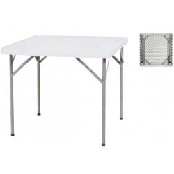 Table pliante carrée 87 x 87 cm